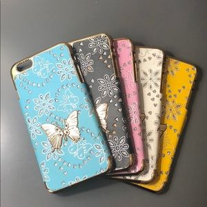Accessories - Set of 5 butterfly iPhone 7 Plus cases